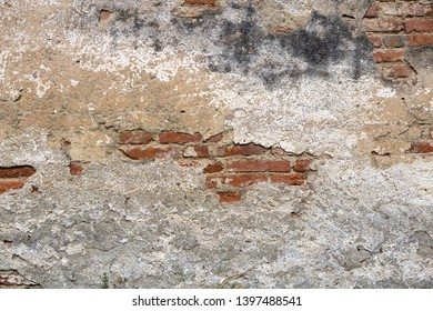 Brick wall background, texture, structure