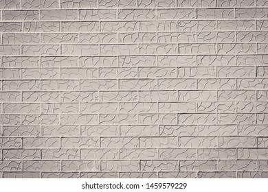 Brick wall background. Toned .