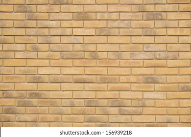 Brick wall background in UK home