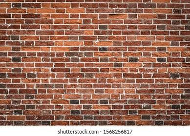 Textura de cierre de pared de ladrillo