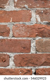 Brick wall - Garden District, New Orleans, Louisiana, USA
