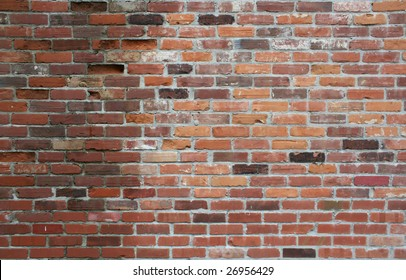 A brick wall great for a background