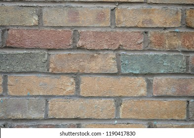 Brick Wall Isolated Background