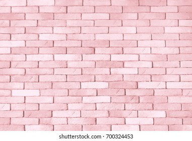 Brick wall, painted pink wall
