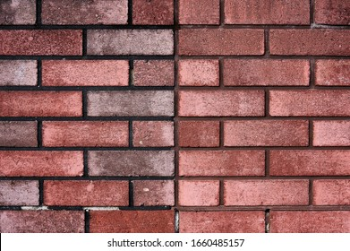 Brick wall with red brick, red brick background. - Shutterstock ID 1660485157