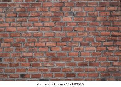 brick wall retro vintage background
