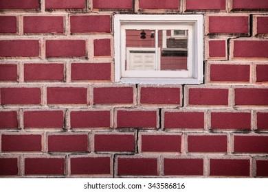 Brick Wall with small window