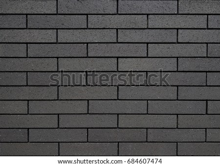 Brick Wall Template Background Black Texture Stock Photo (Edit Now ...