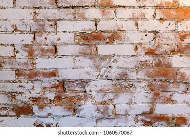 Brick wall. Texture for background.