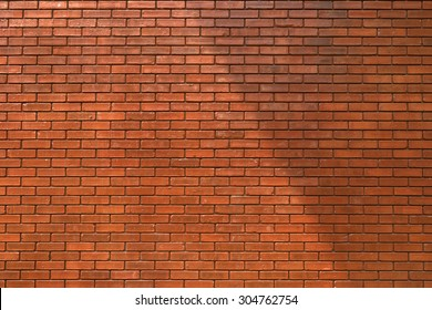 brick wall texture background material of industry building construction