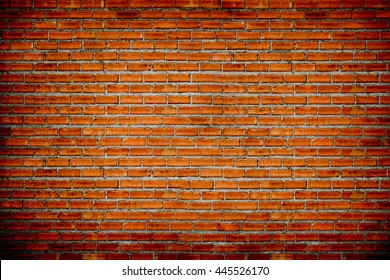 brick wall texture background style vintage brown brick wall