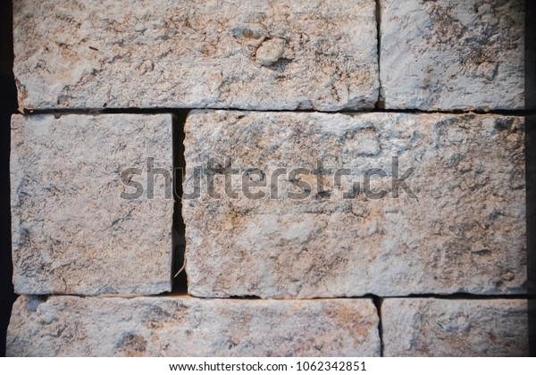 brick wall texture grunge background may use to interior design