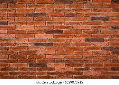 Brick wall texture on rustic background style