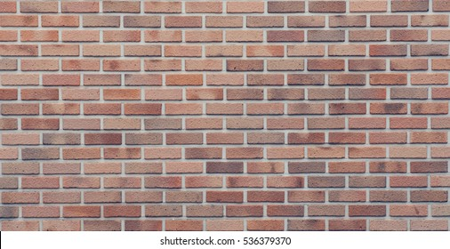 Brick wall texture seamless background, vintage style