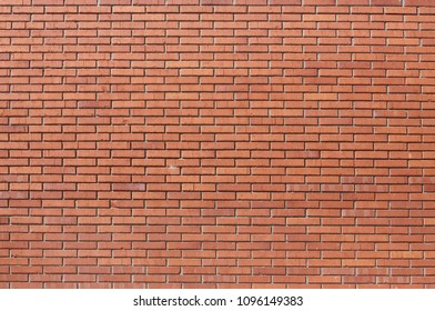 Brick wall texture used as background