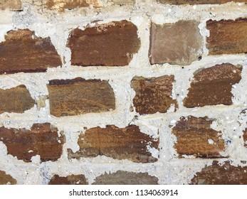 Brick wall texture vintage background.