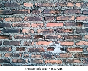Brick wall vintage, vintage background