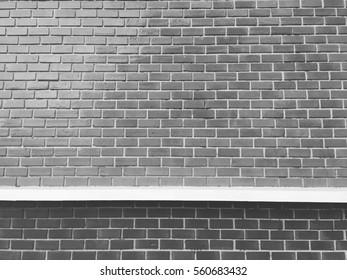 Brick wall vintage theme