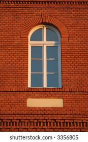 brick wall with window 2.