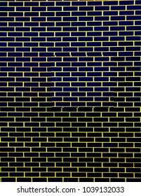Brick walls dark tone as background.