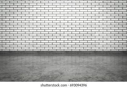 Brick White Studio, 3D rendering