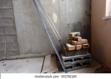 bricks and blocks renovated apartment