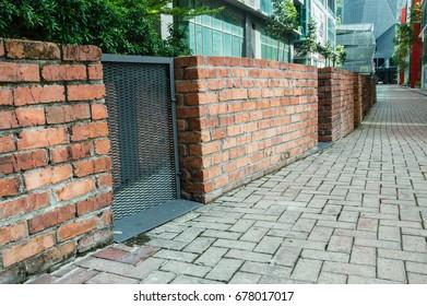Bricks Fences
