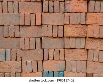 Bricks that are neatly arranged, sturdy and strong