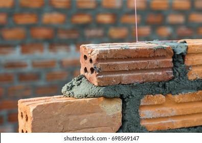 Bricks wall work
