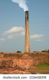 Brickwater furnace and made of brick
