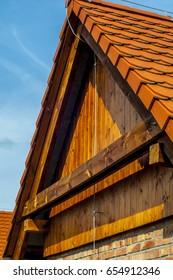 Brick/wooden building