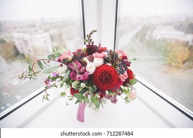 Bridal bouquet.