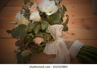 bridal bouquet, flowers