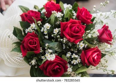 Bridal bouquet. flowers