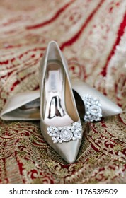 Bridal designed high heel Sandal Shoes