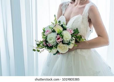 Bridal dress beautiful