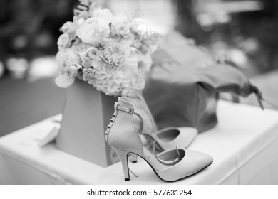 Bridal elegant shoes