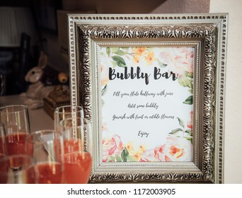Bridal shower decorations