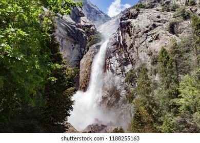 Bridal Veil Fall at Yosemite National Park