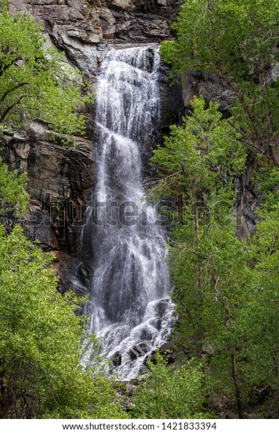 Bridal Veil Falls Spearfish Canyon