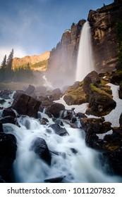 Bridal Veil Falls near Telluride, Colorado.