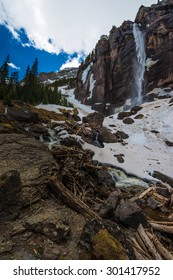 Bridal Veil Falls Spring in Telluride Colorado