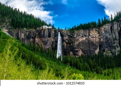 Bridal Veil Falls in Telluride, Colorado