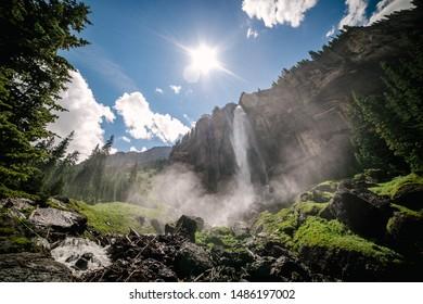 Bridal Veil Falls in Telluride Colorado