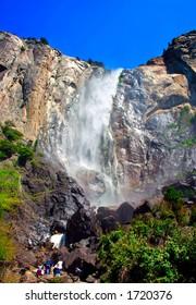 Bridal Veils Fall, Yosemite National Park