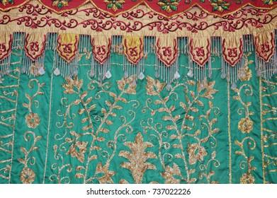 bridal wedding bugisnese traditional ornament decoration
