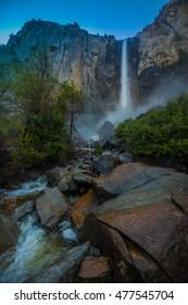 Bridalveil Falls Yosemite National Park California, USA
