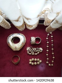 Bride accessories for minang traditional wedding in sumatra barat Indonesia