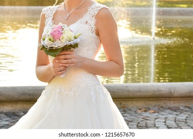bride after the wedding