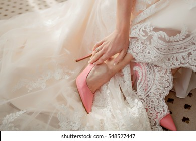 Bride dress shoes